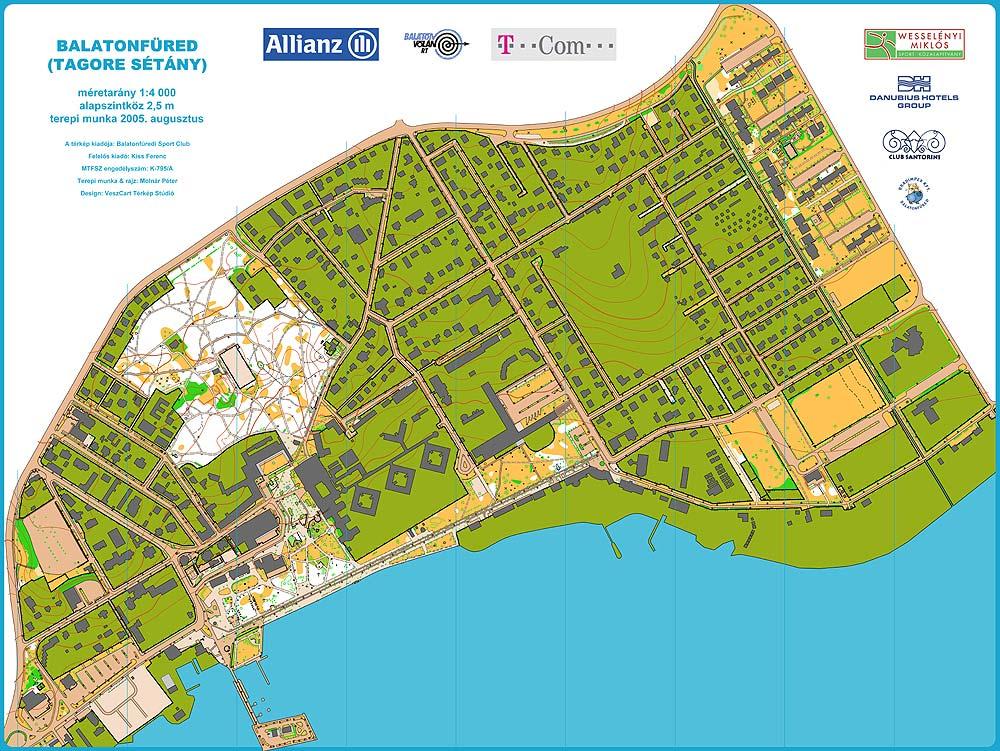 alsóörs térkép VeszCart Térkép Stúdió    alsóörs térkép